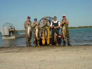 Cast and Blast - Wadefishing for redfish